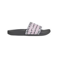 adidas Adilette Comfort Badesandalen Damen - GREFIV/CLPINK/FTWWHT - Größe 5