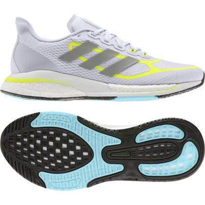 adidas Supernova W Runningschuhe Damen - DSHGRY/SYELLO/FTWWHT - Größe 6-