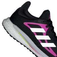 adidas Solar Glide 3 W Runningschuhe Damen - CBLACK/FTWWHT/SCRPNK - Größe 7-