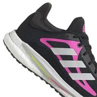 adidas Solar Glide 3 W Runningschuhe Damen - CBLACK/FTWWHT/SCRPNK - Größe 8-