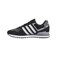 adidas 10K Sneaker Herren - CBLACK/FTWWHT/GREFOU - Größe 8