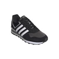 adidas 10K Sneaker Herren - CBLACK/FTWWHT/GREFOU - Größe 11-