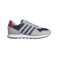 adidas 10K Sneaker Herren - GRETWO/CRENAV/SCARLE - Größe 10-