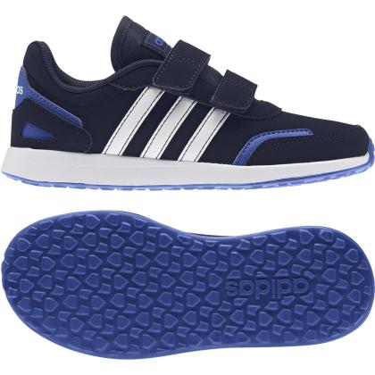 adidas VS Switch 3 C Sneaker Kinder - CBLACK/FTWWHT/ROYBLU - Größe 28-