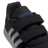 adidas VS Switch 3 C Sneaker Kinder - CBLACK/FTWWHT/ROYBLU - Größe 30-