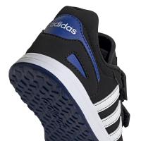adidas VS Switch 3 C Sneaker Kinder - CBLACK/FTWWHT/ROYBLU - Größe 31-