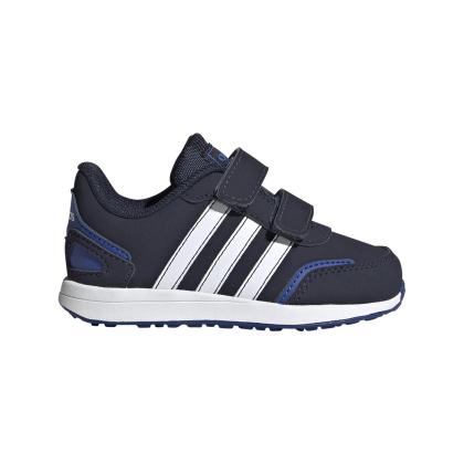adidas VS Switch 3 I Sneaker Kinder - CBLACK/FTWWHT/ROYBLU - Größe 25-