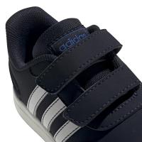 adidas VS Switch 3 I Sneaker Kinder - CBLACK/FTWWHT/ROYBLU - Größe 26-