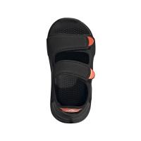 adidas Swim Sandal I Badeschuhe Kinder - CBLACK/CBLACK/FTWWHT - Größe 23
