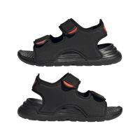 adidas Swim Sandal I Badeschuhe Kinder - CBLACK/CBLACK/FTWWHT - Größe 25