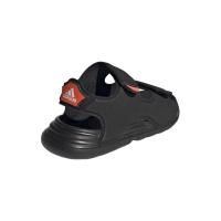 adidas Swim Sandal I Badeschuhe Kinder - CBLACK/CBLACK/FTWWHT - Größe 27