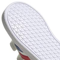 adidas VL Court 2.0 CMF I Sneaker Kinder - FTWWHT/ROYBLU/VIVRED - Größe 22