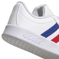 adidas VL Court 2.0 CMF I Sneaker Kinder - FTWWHT/ROYBLU/VIVRED - Größe 25-