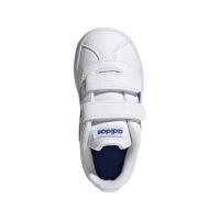adidas VL Court 2.0 CMF I Sneaker Kinder - FTWWHT/ROYBLU/VIVRED - Größe 27