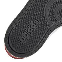 adidas Hoops 2.0 CMF I Sneaker Kinder - CBLACK/FTWWHT/VIVRED - Größe 22