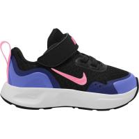 Nike Wear All Day (TD) Sneaker Kinder - BLACK/SUNSET PULSE-SAPPHIRE - Größe 8C