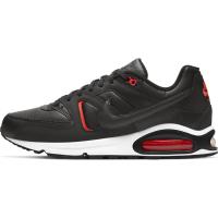 Nike Air Max Command Sneaker Herren - BLACK/DK SMOKE GREY-BRIGHT CRIMSON-WHITE - Größe 7,5