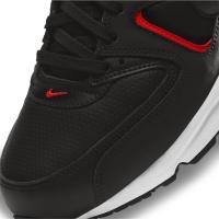 Nike Air Max Command Sneaker Herren - BLACK/DK SMOKE GREY-BRIGHT CRIMSON-WHITE - Größe 11