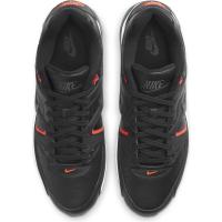 Nike Air Max Command Sneaker Herren - BLACK/DK SMOKE GREY-BRIGHT CRIMSON-WHITE - Größe 11,5