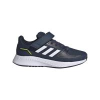 adidas Runfalcon 2.0 C Runningschuhe Kinder - CRENAV/FTWWHT/LEGINK - Größe 29