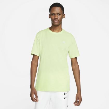 Nike Sportswear Club - LT LIQUID LIME/WHITE - Größe M