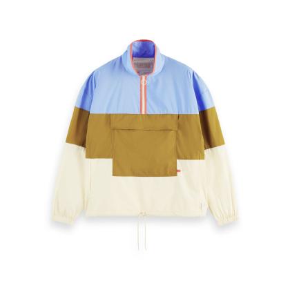 Scotch & Soda leichte Jacke Colourblock - mehrfarbig - Größe S