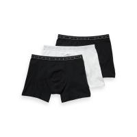 Scotch & Soda Boxershorts 3er-Pack schwarz/weiß