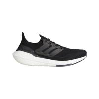 adidas Ultraboost 21 Runningschuhe Herren - CBLACK/CBLACK/GREFOU - Größe 10-