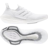 adidas Ultraboost 21 Runningschuhe Herren - FTWWHT/FTWWHT/GRETHR - Größe 7-