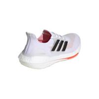 adidas Ultraboost 21 Runningschuhe Damen - FTWWHT/CBLACK/SOLRED - Größe 6