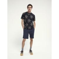 Scotch & Soda T-Shirt mit Allover-Print - 160850-0221