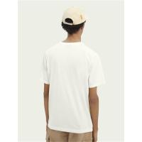 Scotch & Soda Basic T-Shirt - Off White - Größe S