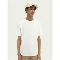 Scotch & Soda Basic T-Shirt - Off White - Größe L