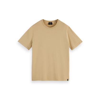 Scotch & Soda Basic T-Shirt - Sand - Größe M