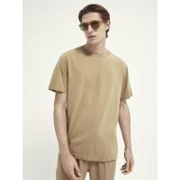 Scotch & Soda Basic T-Shirt - Sand - Größe L