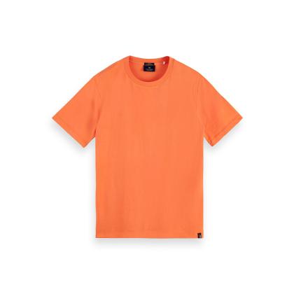 Scotch & Soda Basic T-Shirt - Peach Echo - Größe M