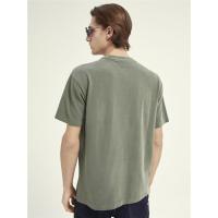 Scotch & Soda Piqué-T-Shirt - Army - Größe S