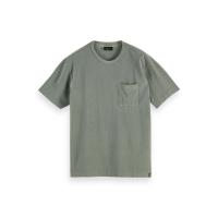 Scotch & Soda Piqué-T-Shirt - Army - Größe L