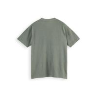Scotch & Soda Piqué-T-Shirt - Army - Größe XL