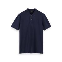 Scotch & Soda Piqué-Poloshirt - Night - Größe L