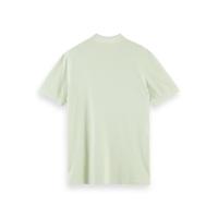 Scotch & Soda Piqué-Poloshirt - Seafoam - Größe M