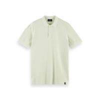 Scotch & Soda Piqué-Poloshirt - Seafoam - Größe XL