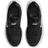 Nike WearAllDay Sneaker Kinder - BLACK/WHITE - Größe 11.5C