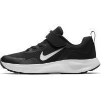 Nike WearAllDay Sneaker Kinder - BLACK/WHITE - Größe 13.5C
