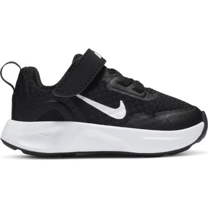 Nike WearAllDay Sneaker Kinder - BLACK/WHITE - Größe 9C