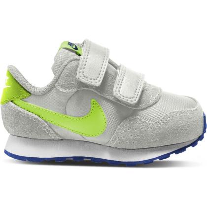 Nike MD Valiant Sneaker Kinder - GREY FOG/VOLT-GAME ROYAL-WHITE - Größe 7C