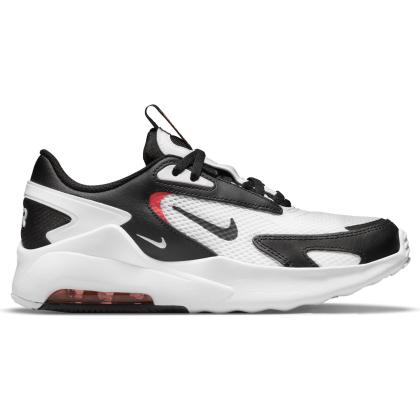 Nike Air Max Bolt Sneaker Kinder - WHITE/BLACK-BRIGHT CRIMSON - Größe 6Y