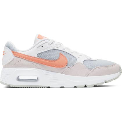 Nike Air Max SC Sneaker Kinder - WHITE/CRIMSON BLISS-LIGHT VIOLET - Größe 4Y