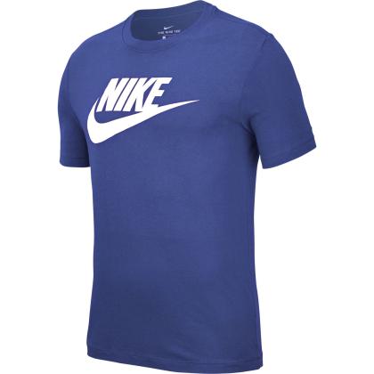 Nike Sportswear Mens T-Shirt - ASTRONOMY BLUE/WHITE - Größe L