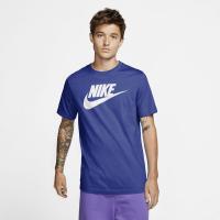 Nike Sportswear Mens T-Shirt - ASTRONOMY BLUE/WHITE - Größe XL